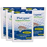 Platypus Orthodontic Flossers for Braces – Unique Structure Fits Under Arch Wire, Floss Entire Mouth in Less Than Two Minutes, Increases Flossing Compliance Over 84% - 30 Count Bag (Pack of 4)