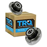 TRQ Rear Wheel Hub & Bearing Left LH & Right RH Pair for Audi TT Passat Jetta VW