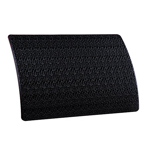 Extra Thick Sticky Anti-Slip Gel Pad, Mini-Factory Premium Universal Non-Slip Dashboard Mat for Cell Phones, Sunglasses, Keys, Coins and More - Black (Large Size: 7.8' X 5.5')