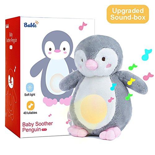 Pinguino che aiuta ad addormentare i bambini