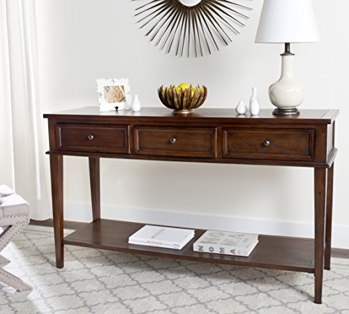 Safavieh American Homes Collection Manelin Sepia Console Table
