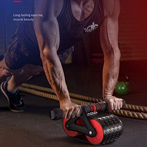 DWLXSH Ab Wheel Roller Abdominal Exercise Wheel,Home Fitness Exercise Equipment,Ideal for Body Fitness Strength Training Home Gym 2
