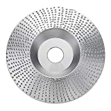 4 Inch Shaping Disc Tungsten Carbide Wood Sanding Carving Disc for Angle Grinder