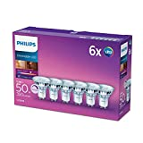 Philips Spot LED GU10 Classique 5,5W Compatible variateur...