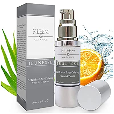 💖 POWERFUL ANTI-AGING VIT C SERUM for Men & Women – Unlike many face serums that claim to be the best anti wrinkle creams that really work this vitamin c serum for face packed with Vitamin C, Hyaluronic Acid, Vitamin E & Jojoba oil, is proven to redu...