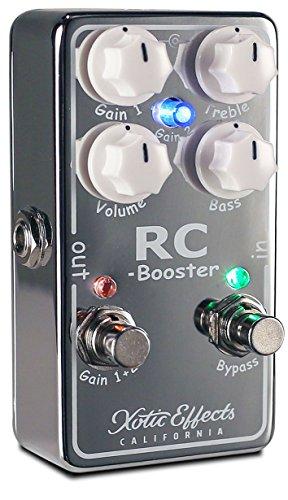 Xotic エキゾチック エフェクター ブースター RC Booster V2 RCB-V2 【国内正規品】 【徹底解説】Andy Timmons(アンディ・ティモンズ)のエフェクターボード・機材を解析!ツマミ・ノブの位置も分かる!ギターを支える機材の数々を紹介!【ペダル・アンプ金額一覧】