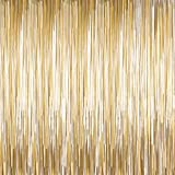 Sumind 4 Packs Photo Booth Backdrops Foil Curtains Metallic Tinsel Backdrop Curtains Door Fringe Curtains for Wedding Birthday Christmas Halloween Disco Party Favour Decorations (Matt Light Gold)