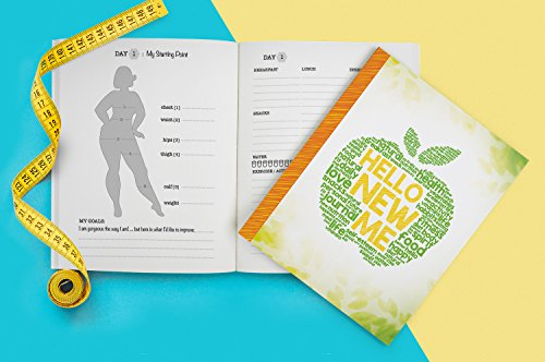 Hello New Me: A Daily Food and Exercise Journal to Help You Become the Best Version of Yourself, (90 Days Meal and Activity Tracker) 2