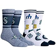Officially licensed merchandise by PKWY Made of 79% Polyester, 16% Combed Cotton, 2% Nylon, 3% Elastane - Machine wash inside out High quality knitted team graphics in multiple yarn blends that feel better and stay dryer! Included in this 2-pack: 2 p...