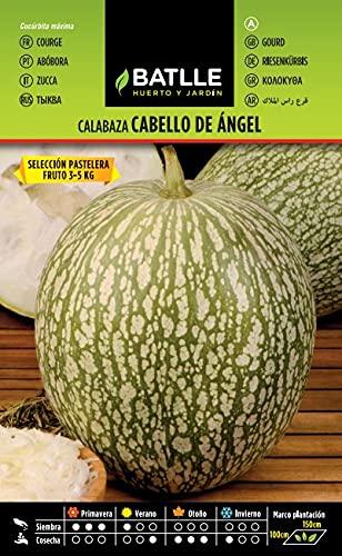 Semillas Hortícolas - Calabaza Cabello de Angel sel. Pastelera - Batlle