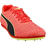 PUMA Evospeed Star 6 Mens Red Textile Athletic Lace Up Running Shoes 12