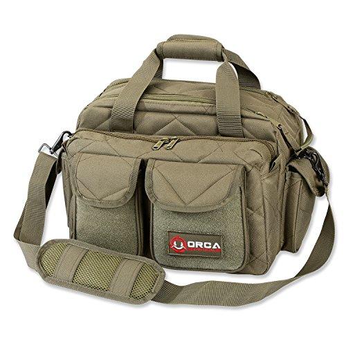 Orca Tactical Gun Shooting Range Bag Handgun Pistol and Ammo...