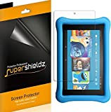 (3 Pack) Supershieldz for All New Fire HD 8 Kids Edition Tablet 8 inch (2018 and 2017 Release) Screen Protector, High Definition Clear Shield (PET)