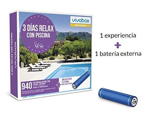 VIVABOX Caja Regalo -3 DÍAS Relax con Piscina- 940 estancias....