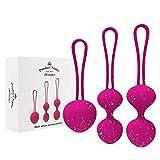 Boules de Geisha'Lola pink'- 3 boules évolutives- Exercices de Kegel pour...