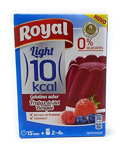 Royal - Gelatina Frutas del Bosque - Light - por 1 litro de