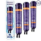 AFILTER Water Filter Compatable with Refrigerator Water Filter Kenmore 9083,9030,469083,469030 (3 Pack)