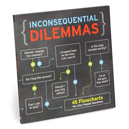 Knock Knock Inconsequential Dilemmas: 45 Flowcharts for Life\'s Peskier Questions (Books & Other Words)