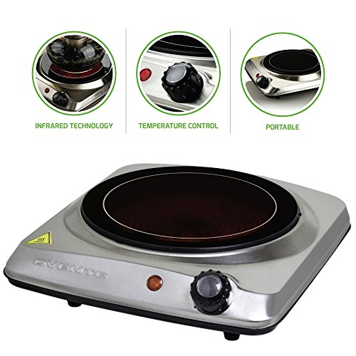 9. Ovente Countertop Infrared Burner