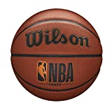 Wilson NBA Forge Series Basketball - Forge, Brown, Size 7 - 29.5'