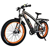 Addmotor MOTAN Electric Bicycles Mountain Fat Tires 26 Inch 750W Power Electric Bikes Removable 48V...