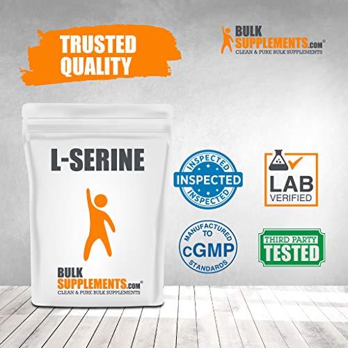 BulkSupplements L-Serine Powder (500 Grams) 7
