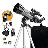 Celestron - 70mm Travel Scope DX - Portable Refractor Telescope - Fully-Coated Glass Optics - Ideal...
