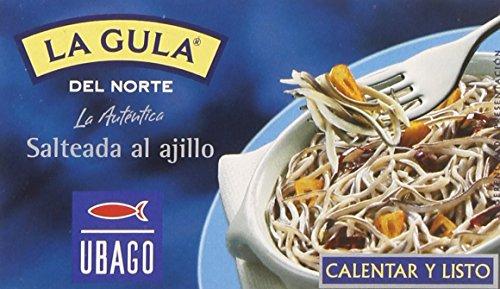Ubago - La gula del norte - Salteada al ajillo 50 gr - Pack