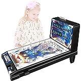 toy Mini Flipper Jeu D'arcade Enfant Puzzle Flipper Espace Jeu De Flipper Électronique Jouet De...