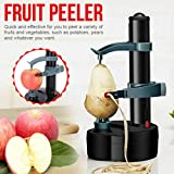 Electric Peeler Panzisun Automatic Fruit Vegetable Peeling Machine Rotato Express Multifunctional Stainless Steel PotatoTomatoes Orange Cutter