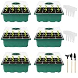 Ulikey Kit de Démarrage pour Plantes, Kit de Propagation de semis de Mini Serre...
