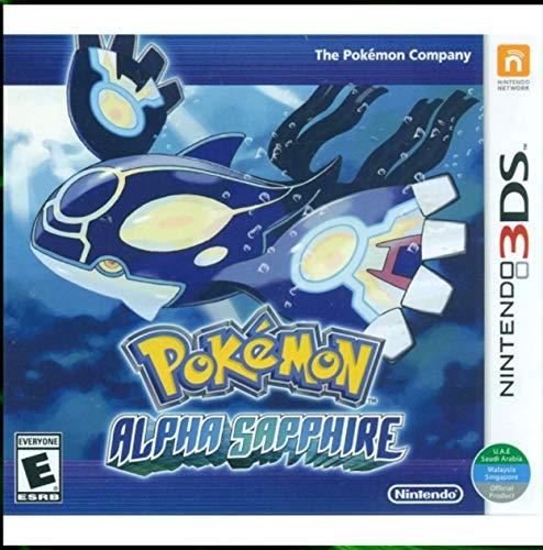 3DS Pokemon Alpha Sapphire - World Edition