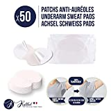Kalibel - Coussinet anti Auréoles, 50 Patchs Anti Transpiration - Jetable,...