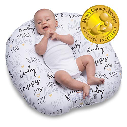 Boppy Newborn Lounger—Original | Lightweight Plush Chair with...