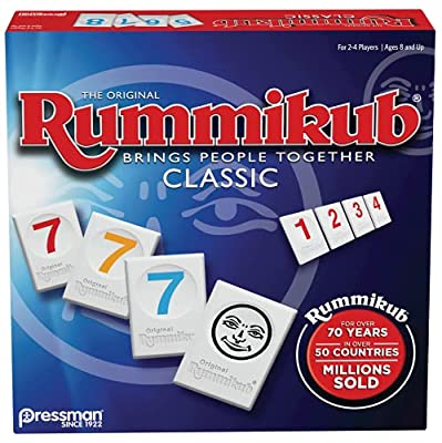 With more than 55 million units sold, Rummikub is one of the world's best-selling and most-played games Players take turns placing numbered tiles in runs or groups, Rummy style - the first player to use all of their tiles wins Fast-paced, easy gamepl...