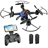 Holy Stone F181W 1080P WiFi FPV Drone with Wide-Angle HD Camera Live...