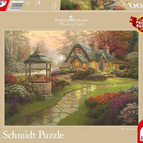 Schmidt Puzzle 1000 Piezas - Casa Fuente - T. Kinkade (código 58463)