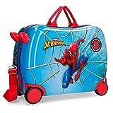 Marvel Spiderman Street - Maleta correpasillos, 50 cm, Multicolor