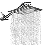 12 Inch High Pressure Showerhead with 11 Inch Arm