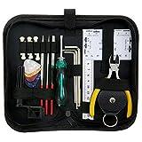 ammoon Kit d'outils pour Réparation, Entretien et Nettoyage de Guitare...