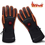GLOBAL VASION Battery Heated Gloves,Heated Gloves,Rechargeable Heated Gloves,Electric Gloves,Heated Gloves for Men,Heated Gloves for Women