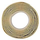 Caulk Strip Almond, 1-5/8' x 11', Extra Wide Tub and Wall Caulk Strip