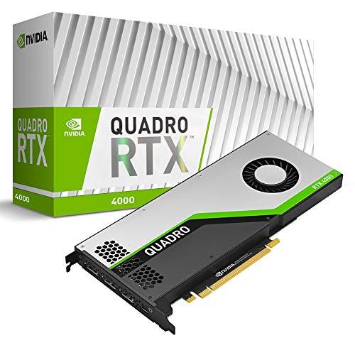 PNY Quadro RTX 4000 Scheda Video, 8 GB, GDDR6