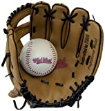 Midwest Gant & balle de baseball pour enfant Marron/noir 22 cm