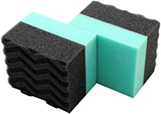 Chemical Guys Acc_3002 Wonder Wave Durafoam Contoured Large Tire Dressing Applicator Pad, Pack of 2