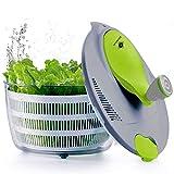 kilokelvin Spinner à Salade en Plastique 4 litres Séchoir à Légumes...
