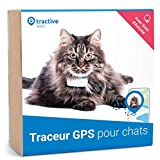 Tractive traceur GPS pour chat, Portée illimitée, Suivi...