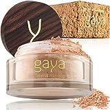 Base Maquillaje Mineral y Vegana - En Polvos, Única 4 en 1...