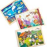 Robotime Jigsaw Puzzle 24 pièces pour Enfants de 3, 4, 5 Ans - Élégant, Lion,...