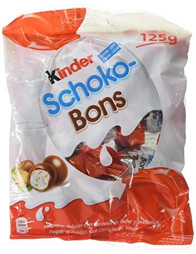 Kinder Schoko-Bons Bombones de Chocolate - 8 Paquete de 125